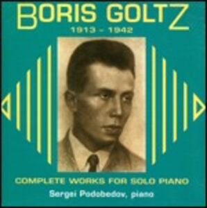 CD Musica per pianoforte di Boris Goltz