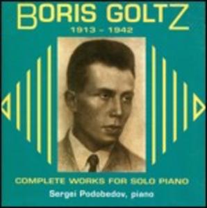 CD Musica per pianoforte di Boris Goltz