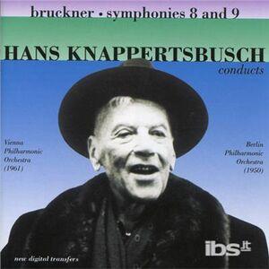 CD Sinfonie n.8, n.9 di Anton Bruckner