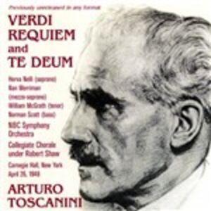 CD Requiem - Te Deum di Giuseppe Verdi
