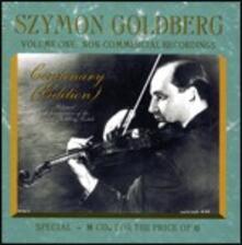 Le registrazioni non commerciali 1950-1967 - CD Audio di Szymon Goldberg