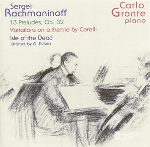 CD 13 Preludi Op.32 - Variations di Sergei Vasilevich Rachmaninov