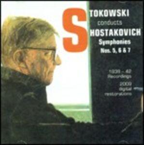 CD Sinfonie n.5, n.6, n.7 di Dmitri Shostakovich