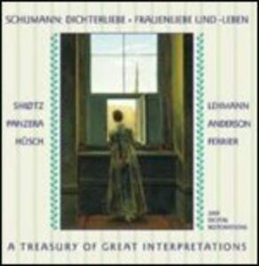 Dichterliebe - Frauenliebe und Leben - CD Audio di Robert Schumann