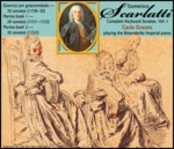 CD Essercizi e Sonate di Domenico Scarlatti