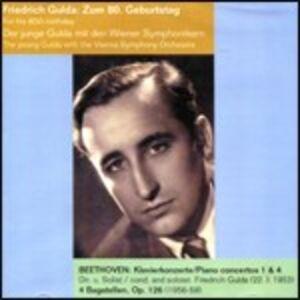 CD Concerti per pianoforte n.1, n.4 - Bagatelle di Ludwig van Beethoven