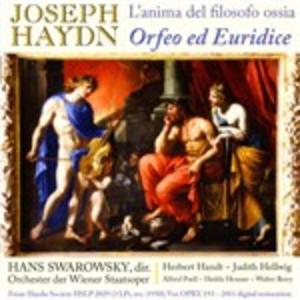 CD L'anima del filosofo ossia Orfeo ed Euridice di Franz Joseph Haydn
