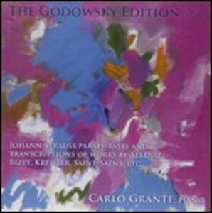 CD The Godowsky Edition vol.7 di Leopold Godowsky