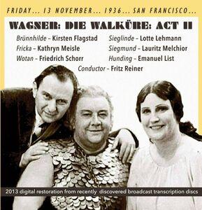 CD Die Walkure Act ii di Richard Wagner