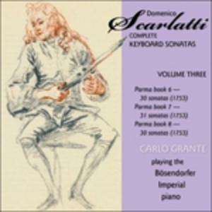 CD Sonate per pianoforte vol.3 di Domenico Scarlatti 0