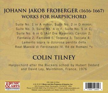 CD Froberger 1649. Brani per clavicembalo di Johann Jacob Froberger 1
