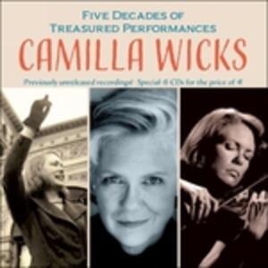 In Concert - CD Audio di Camilla Wicks