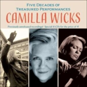 Foto Cover di In Concert, CD di Camilla Wicks, prodotto da Music and Arts