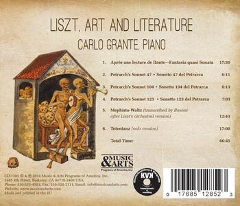 Liszt, Art & Literature - CD Audio di Franz Liszt - 2