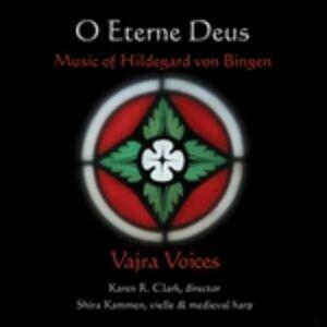 Foto Cover di O Eterne Deus, CD di Hildegard von Bingen, prodotto da Music and Arts