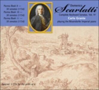 Foto Cover di Sonate per tastiera vol.4, CD di Domenico Scarlatti, prodotto da Music and Arts