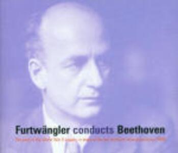 Sinfonie n.3, n.4, n.5, n.6, n.7, n.9 - Ouverture Leonore n.3 - Ouverture Coriolano - CD Audio di Ludwig van Beethoven,Wilhelm Furtwängler
