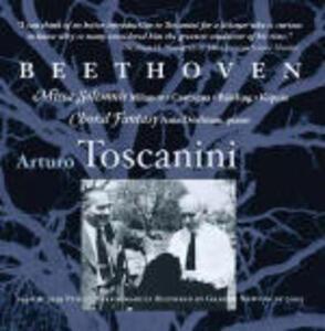 Missa Solemnis - Fantasia corale - CD Audio di Ludwig van Beethoven,Arturo Toscanini