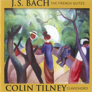 CD Six French Suites di Johann Sebastian Bach