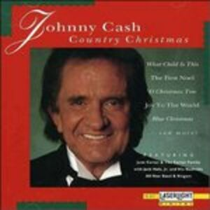 CD Country Christmas di Johnny Cash