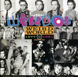 CD Weird World 1977-1981 vol.1 di Weirdos