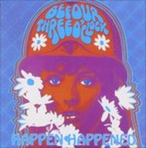 CD Happen Happened di Befour Three O'Clock