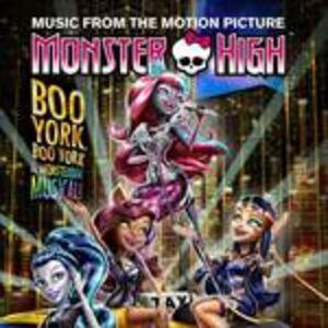 CD Monster High.boo York.. (Colonna Sonora)