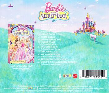 CD Barbie & the Secret Door (Colonna Sonora)  1