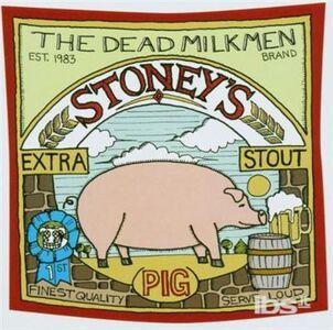 CD Stoney's Extra Stout di Dead Milkmen