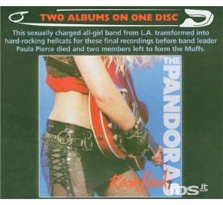 CD Rock Hard.live Nympho di Pandoras