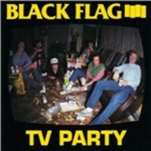 CD Tv Party di Black Flag