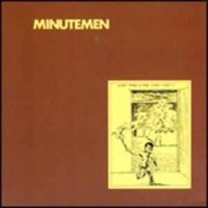 CD What Makes a Man Start Fires? di Minutemen
