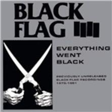 Everything Went Black - Vinile LP di Black Flag