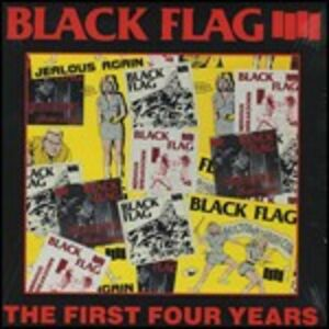 CD The First Four Years di Black Flag