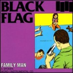 Foto Cover di Family Man, CD di Black Flag, prodotto da SST