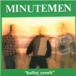 Ballot Result - Vinile LP di Minutemen