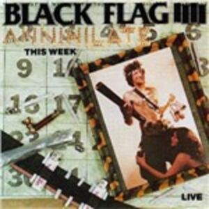 CD Annihilate This Week di Black Flag