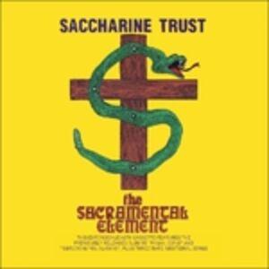 Foto Cover di Sacramental Element, CD di Saccharine Trust, prodotto da SST