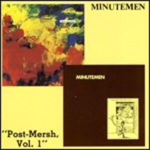 CD Post-Mersch vol.1 di Minutemen