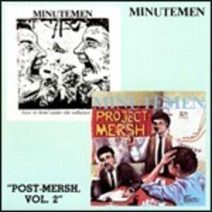 CD Post-Mersch vol.2 di Minutemen
