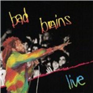 Foto Cover di Live, CD di Bad Brains, prodotto da SST