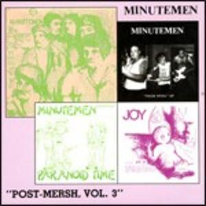 CD Post-Mersch vol.3 di Minutemen