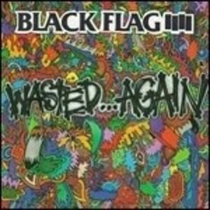CD Wasted Again di Black Flag