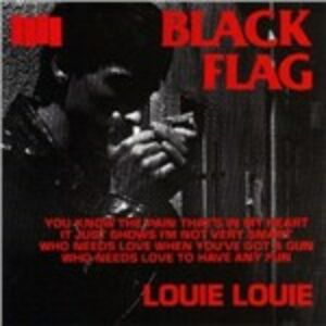 CD Louie Louie di Black Flag