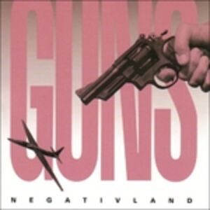 Foto Cover di Guns, CD di Negativland, prodotto da SST