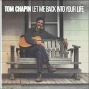 CD Let Me Back Into Your Life di Tom Chapin