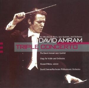 Triple Concerto Woodwind - CD Audio di David Amram