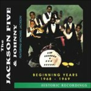 CD Beginning Years 1967-1968 di Jackson 5