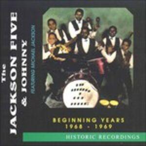 CD Beginning Years 1968-69 di Jackson 5