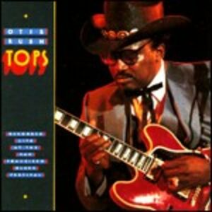 Foto Cover di Tops, CD di Otis Rush, prodotto da Blind Pig